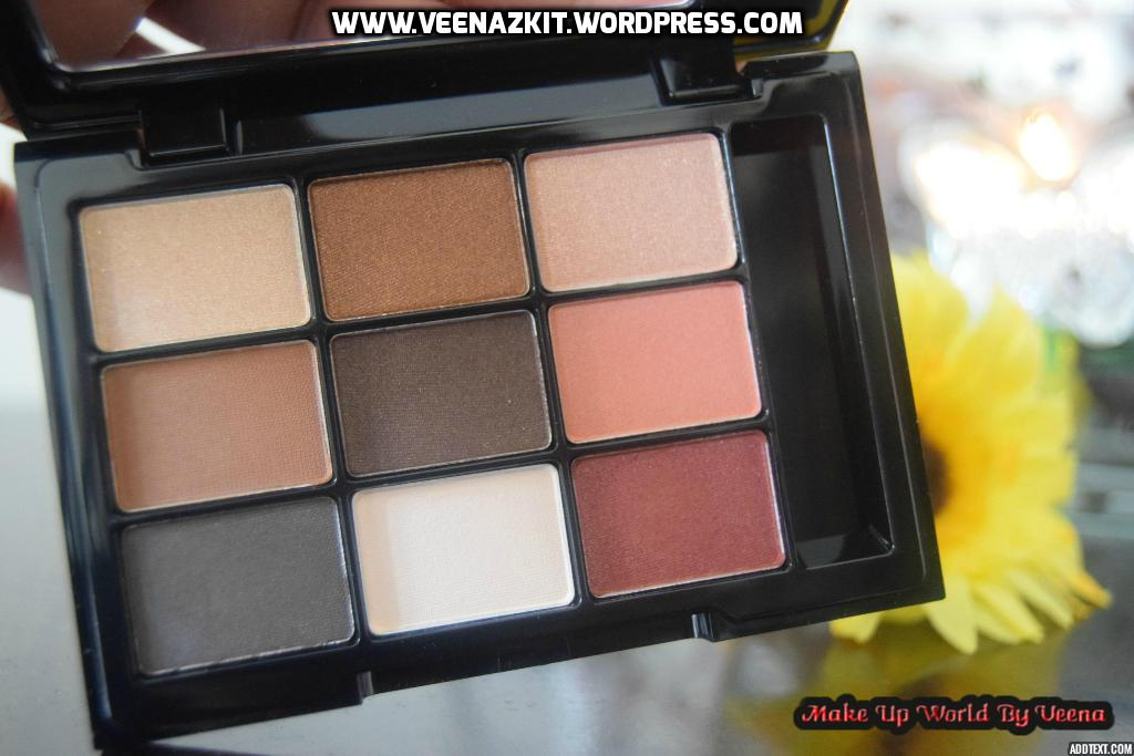 Review & Swatches- NYX Love in Paris Eyeshadow Palette