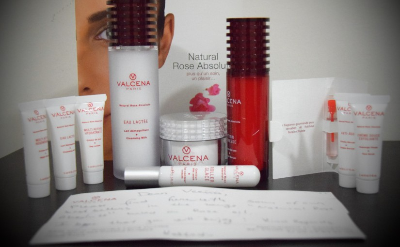 Review- Valcena Paris Natural Rose Absolute Skin Care Review