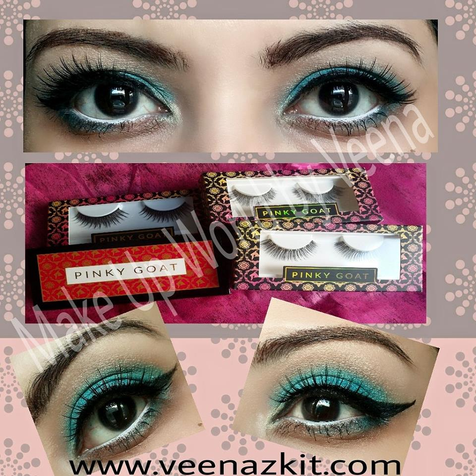 Review- Pinky Goat Mink Eye lashes