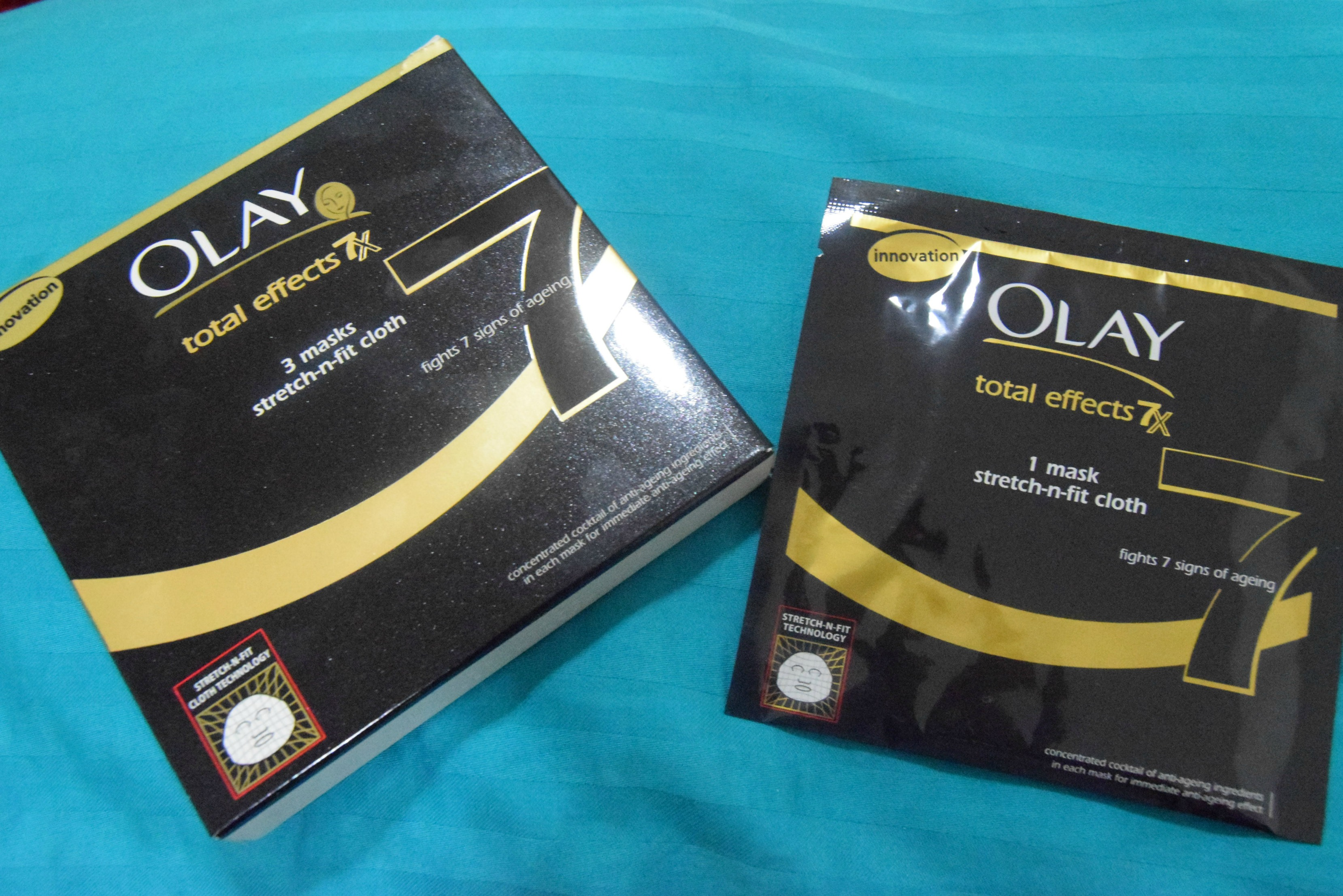 Review- Olay Total Effects 7x Mask Stretch-n-fit