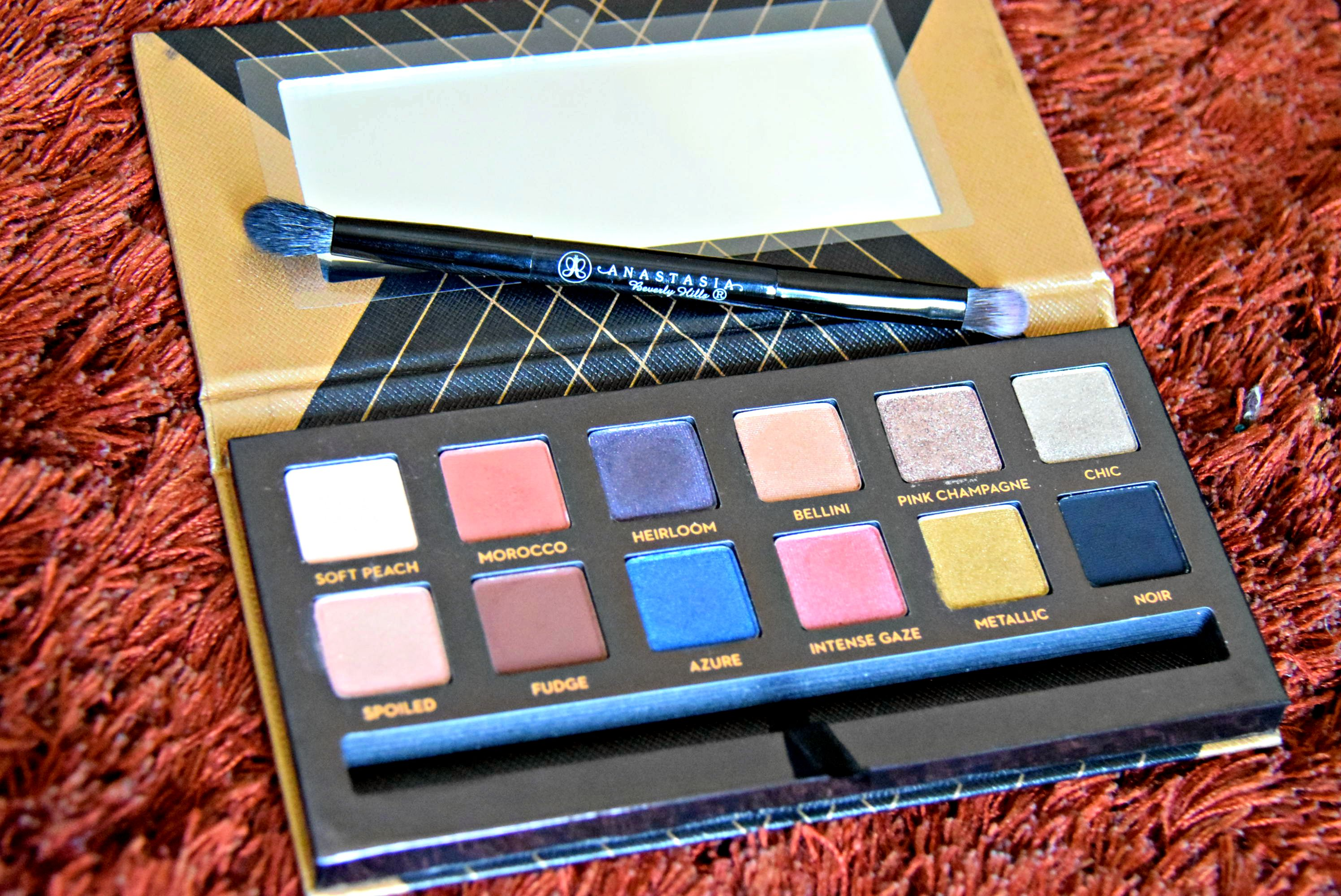 Review & Swatch- Anastasia Beverly Hills Shadow Couture World Traveler Palette