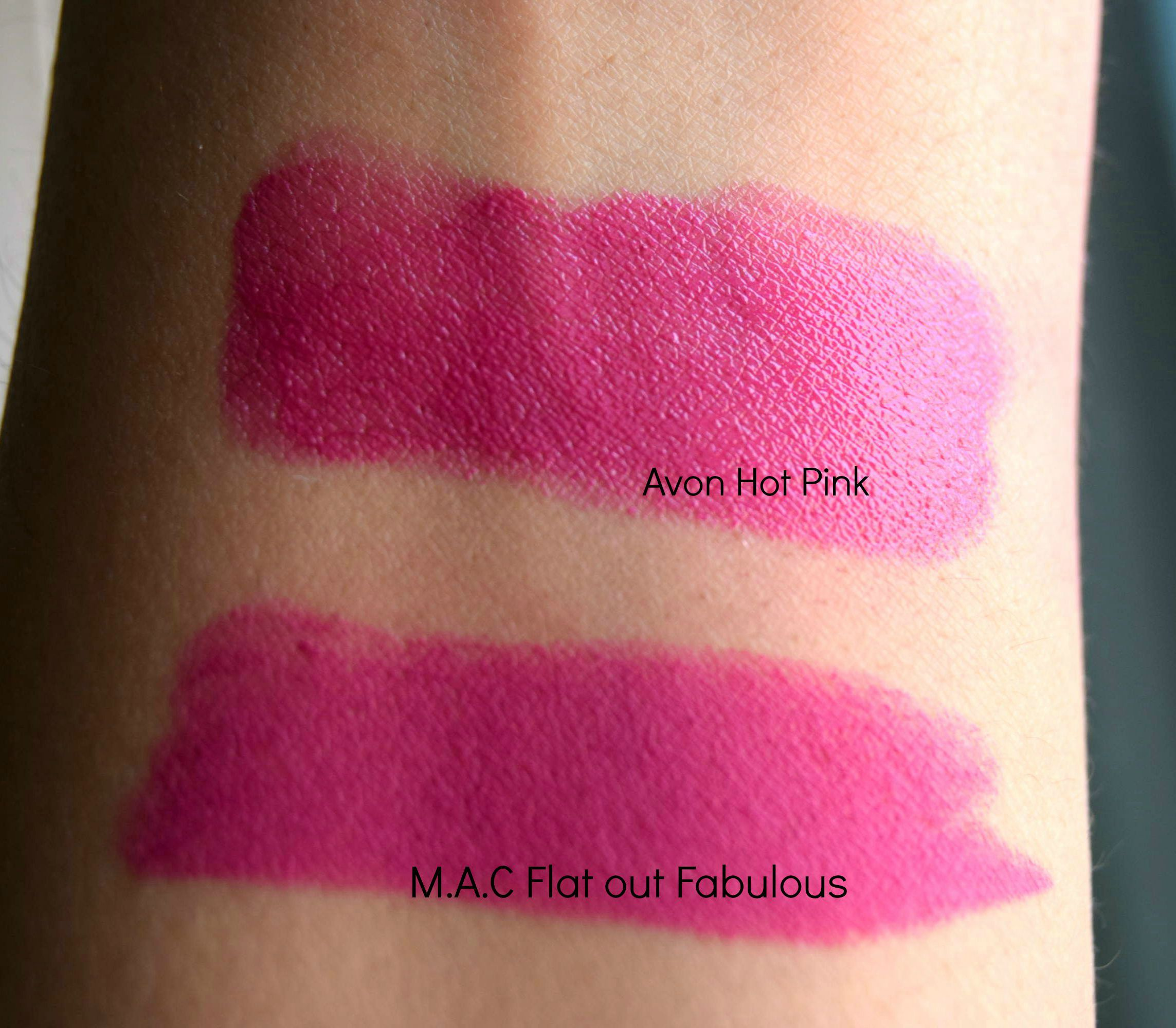 Amato DUPE ALERT! M.A.C LIPSTICK IN FLAT OUT FABULOUS - Veenazworld NW51