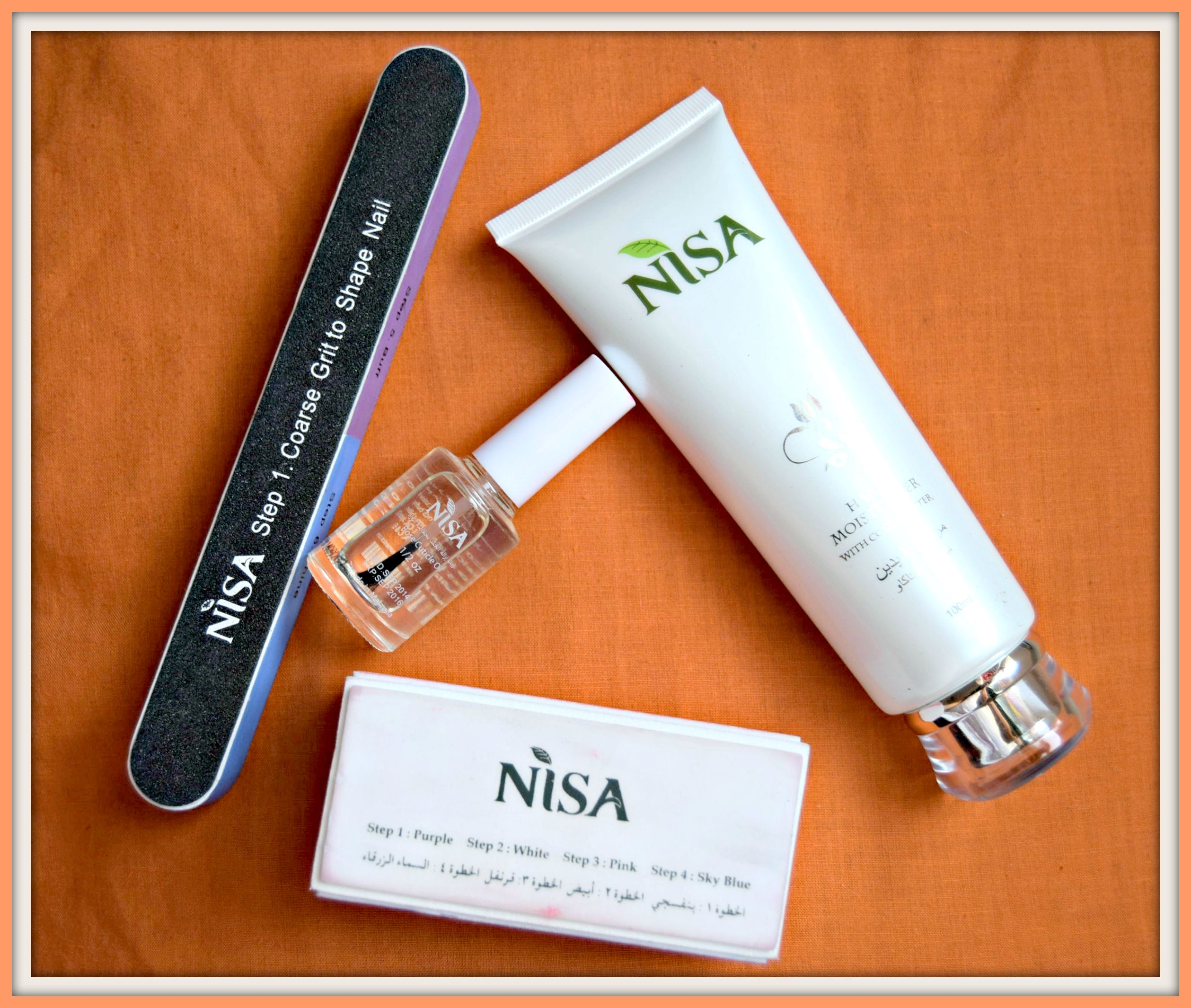 Nisa Cosmetics Buffer Set- Review