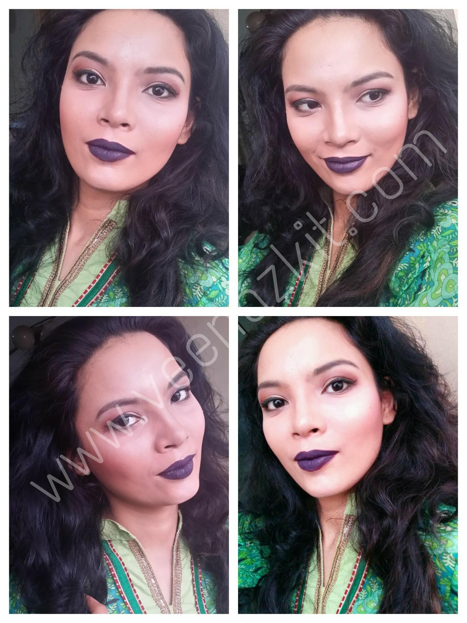Sister's Makeup look #1