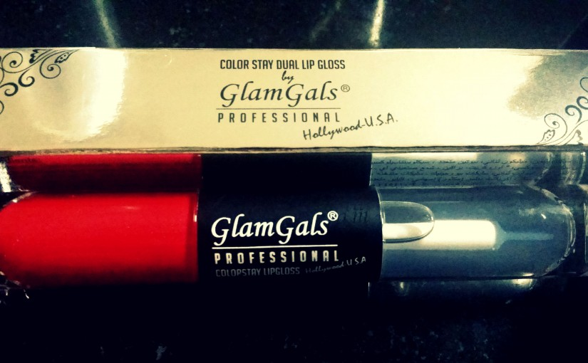 Review- GlamGals Color Stay Dual Lip Gloss