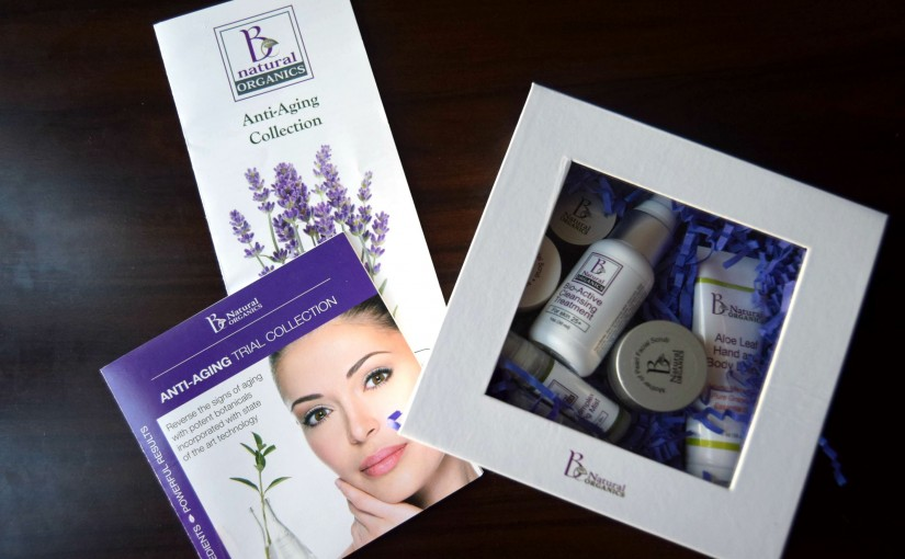 Review- B Natural Organics Anti-Aging Collection