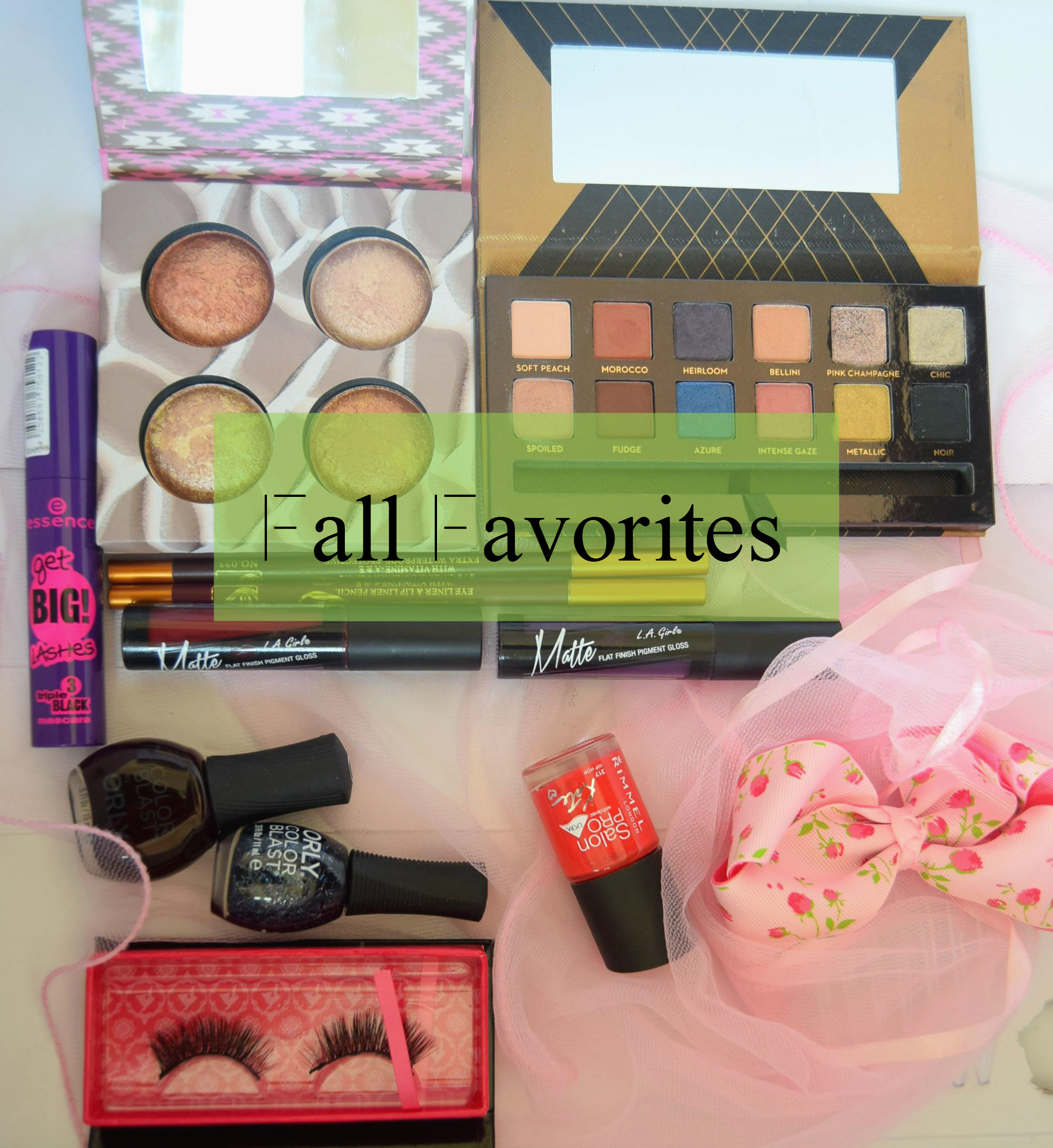 Am I late?–Fall Favorites!!