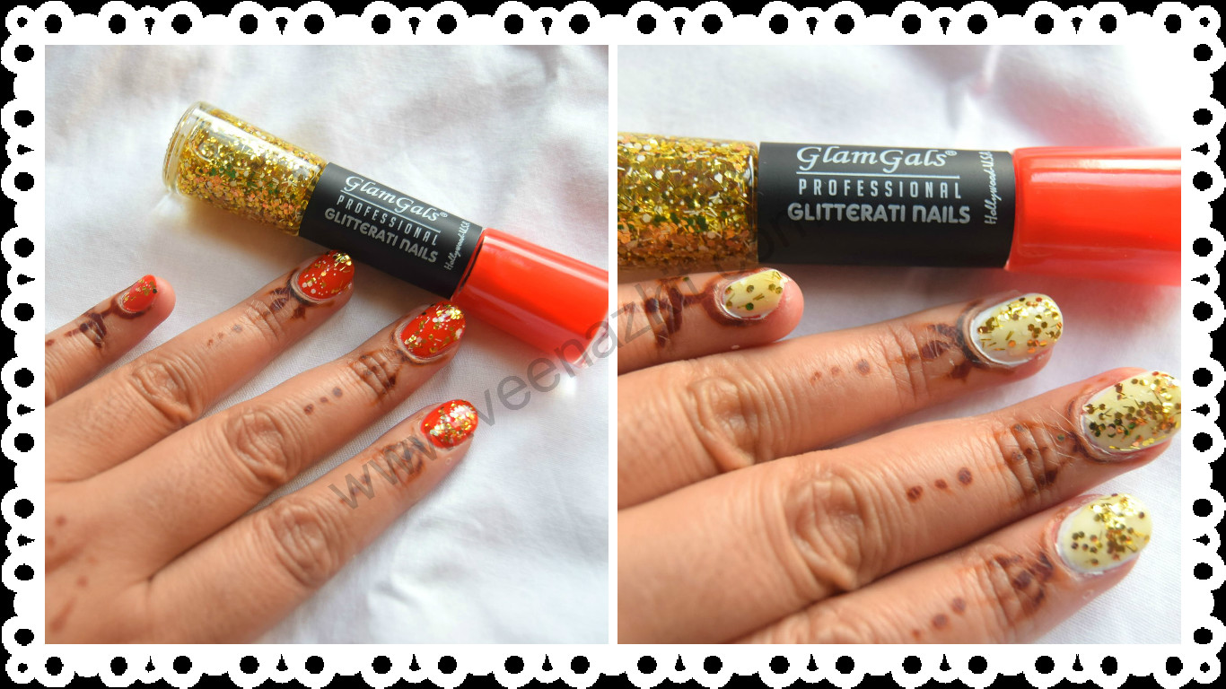 Review- GlamGals Professional Glitterati Nails