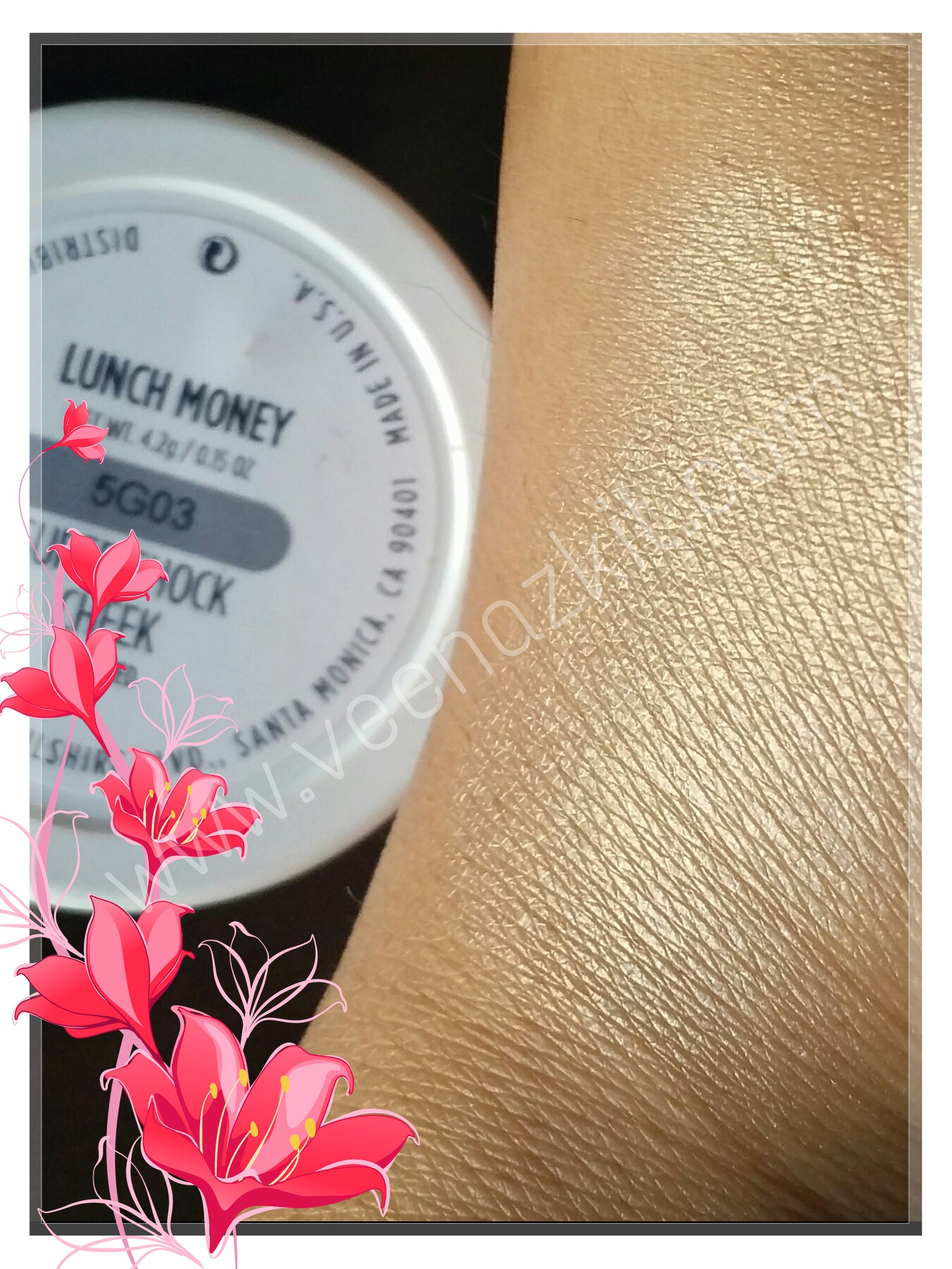 Swatch of the Day- Colour pop Supershock Highlighter