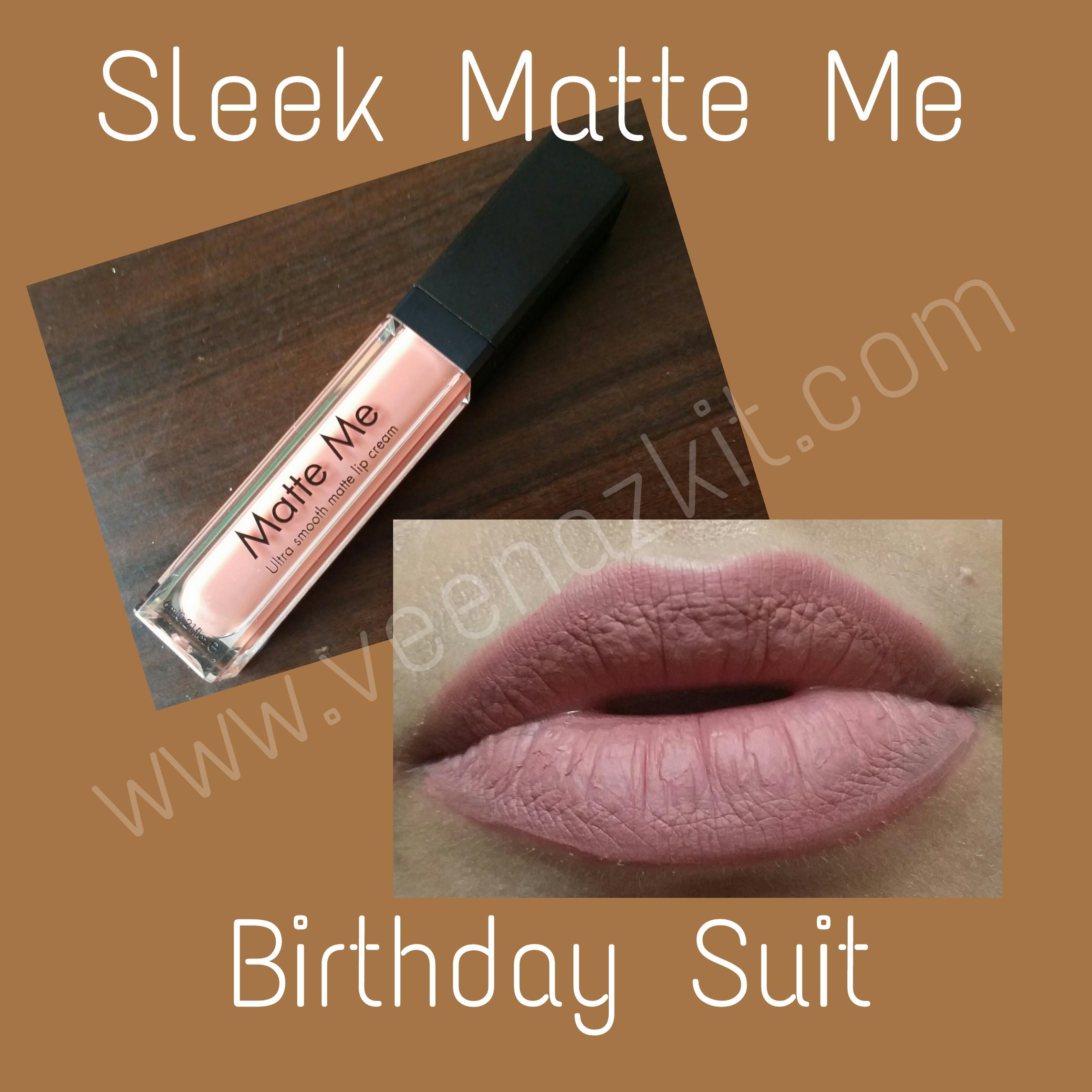 REVIEW- SLEEK MATTE ME ULTRA SMOOTH MATTE LIP CREAM