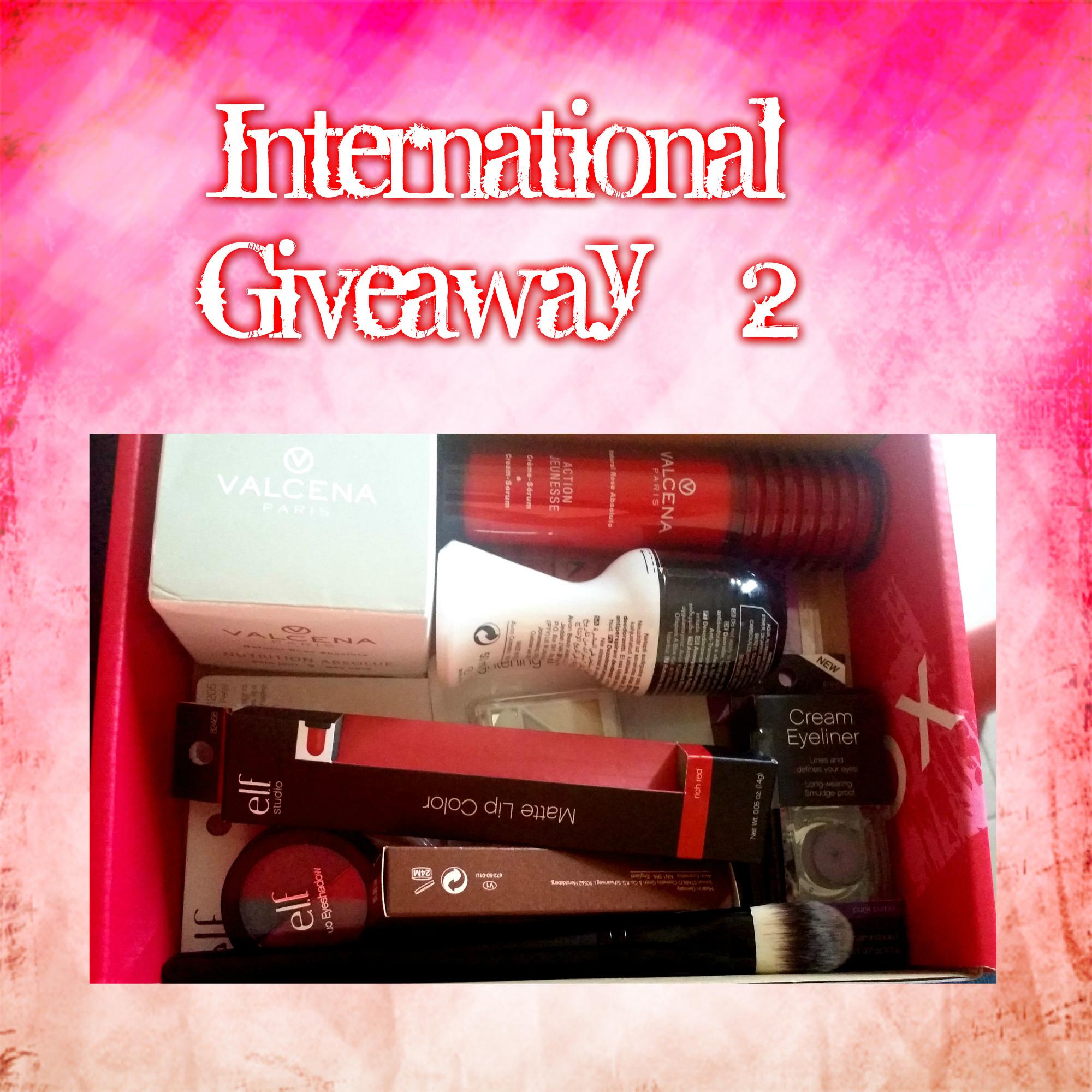 International Giveaway # 2