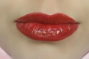 lipgloss- red lipgloss-rimmel london