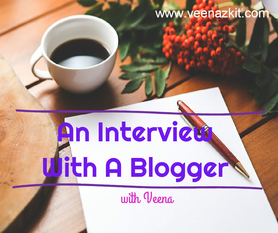 An Interview With A Blogger-