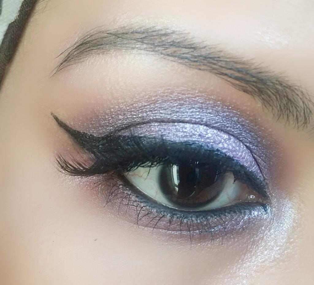purplesmokeyeyemakeuplook