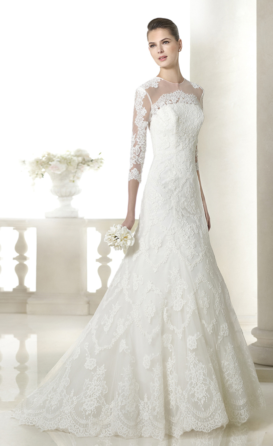 Spectacular-Princess-Lace-Floor-length-Wedding-Dresses-20781