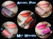 Review & Swatches- Arcancil Paris Mat Hysteria