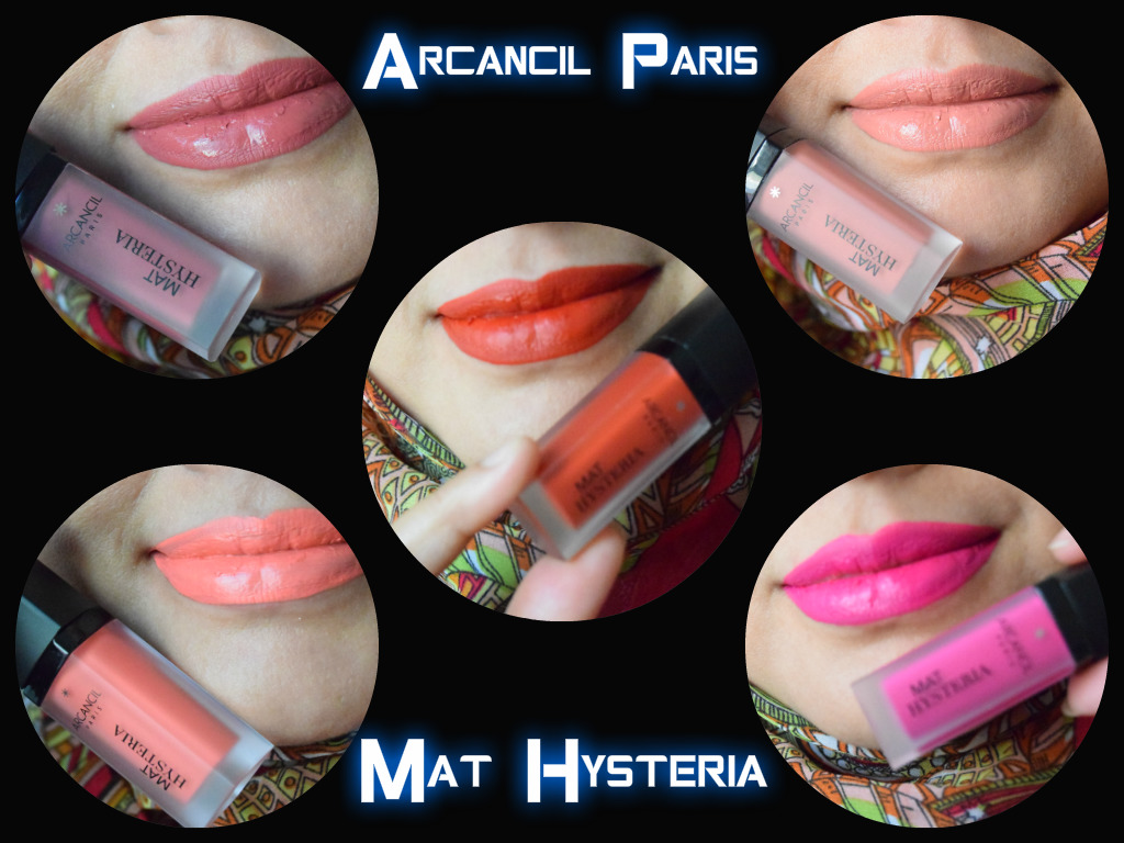 Review & Swatches- Arcancil Paris Mat Hysteria