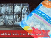 Review & Demo-Artificial Nails from Daiso Japan