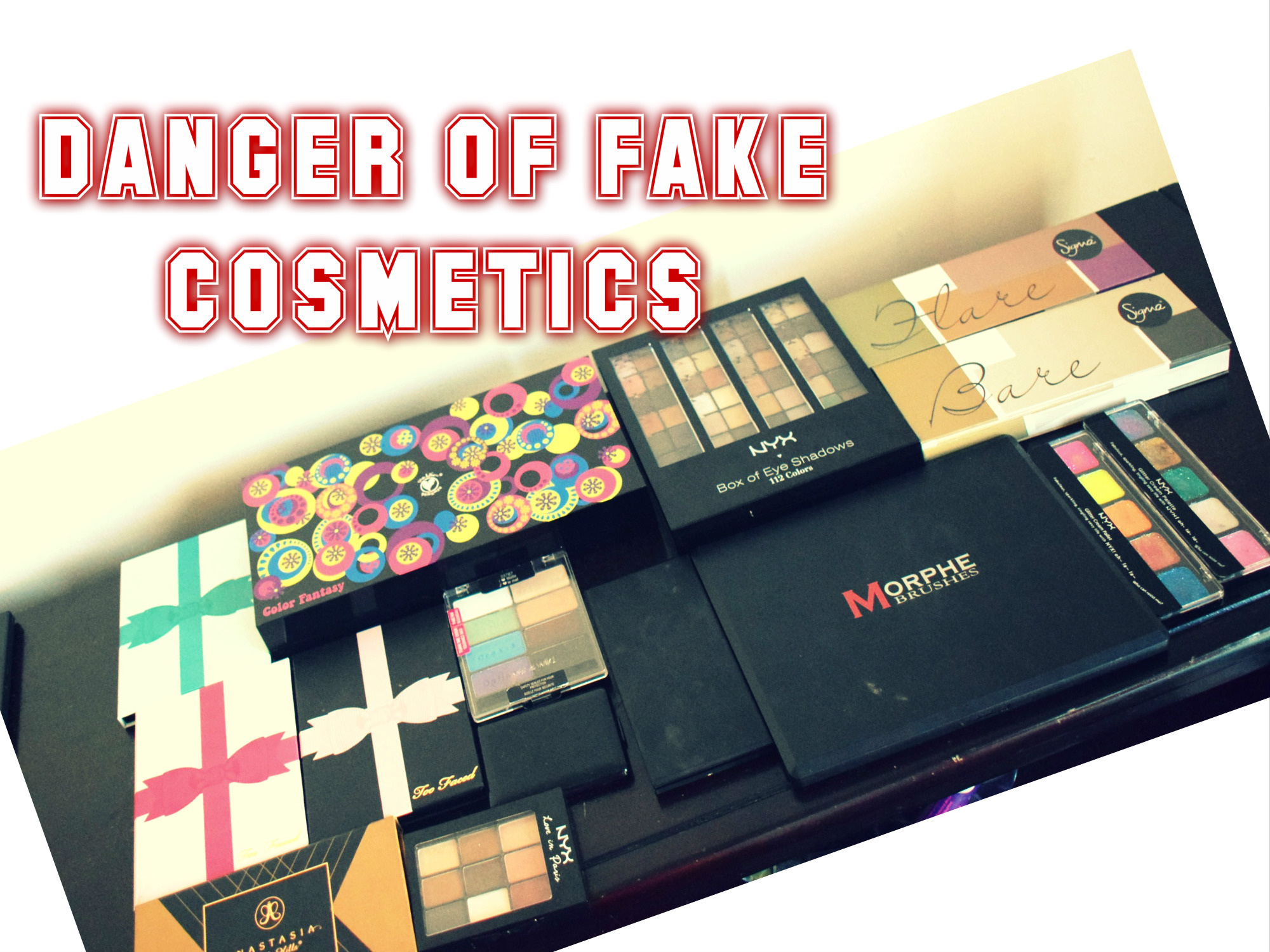 This Is How Dangerous Fake Makeup Products Are!