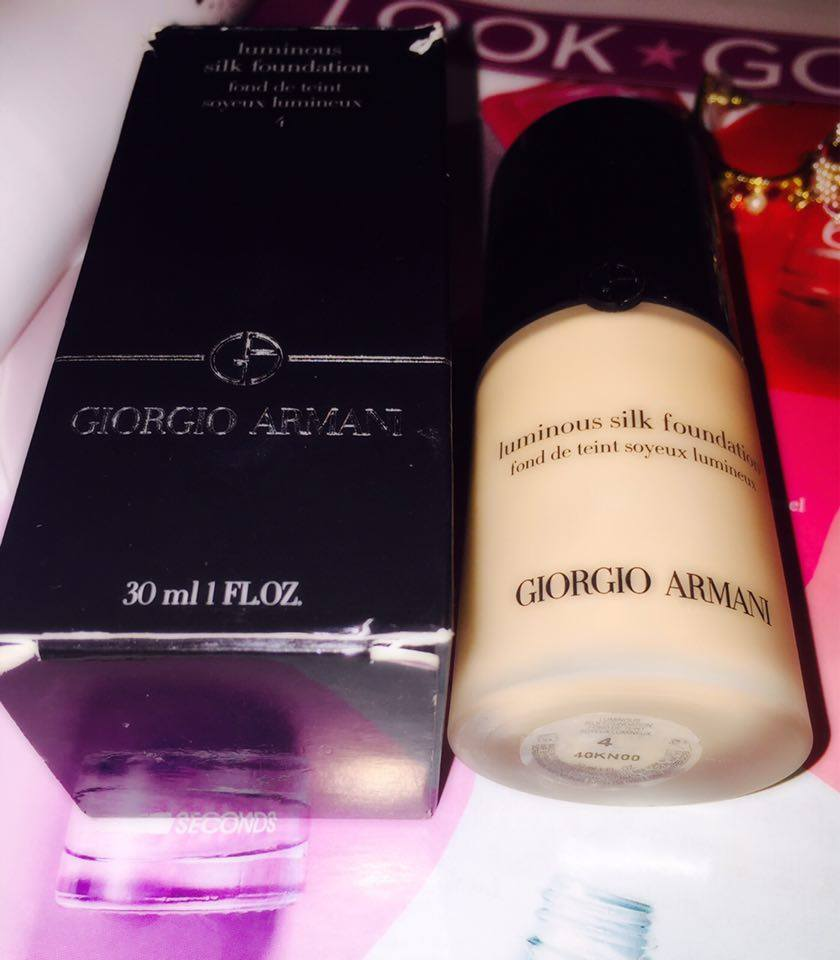 Fan Page Members' Mini Reviews- Giorgio Armani Luminous Silk Foundation