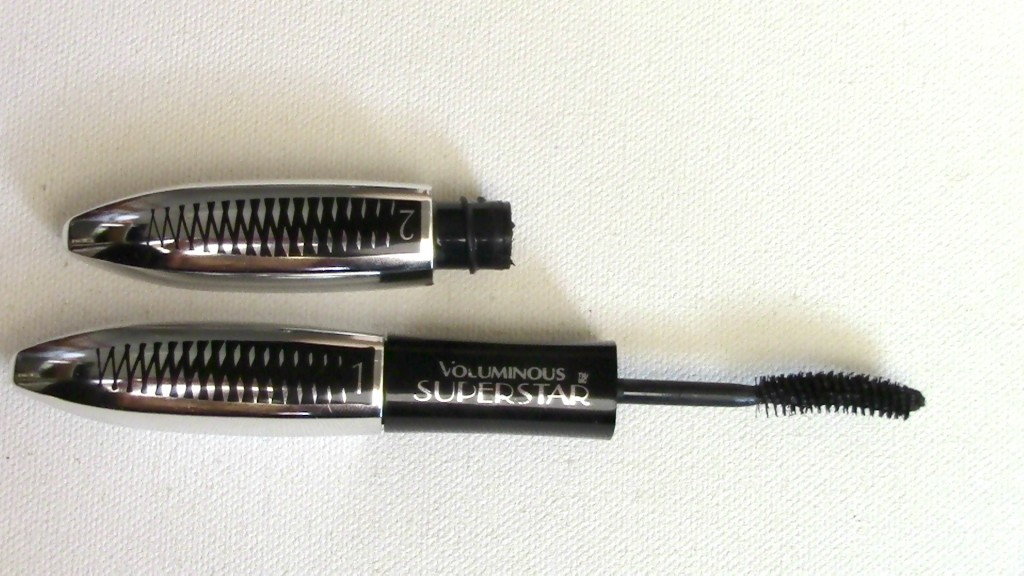 Loreal voluminous superstar mascara-makeuptips-reviews