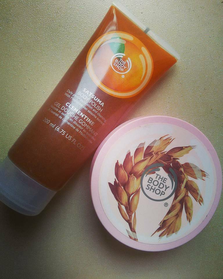 Fan Page Member's Mini Review-The Body Shop Must Haves!