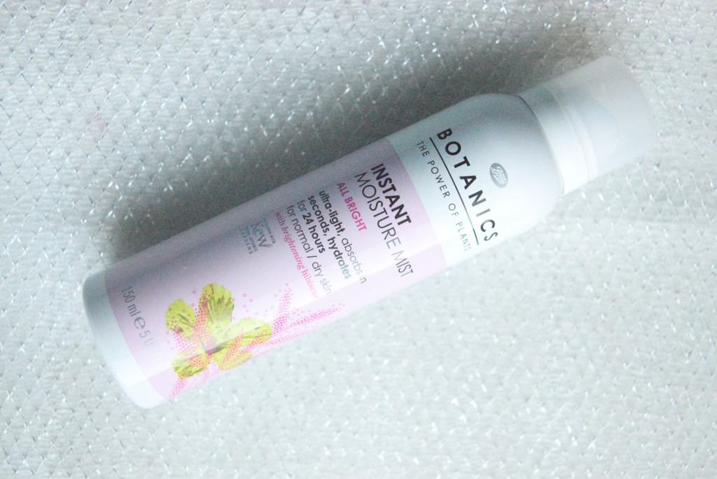 Botanics Instant Moisture Mist | All Bright for normal/dry skin