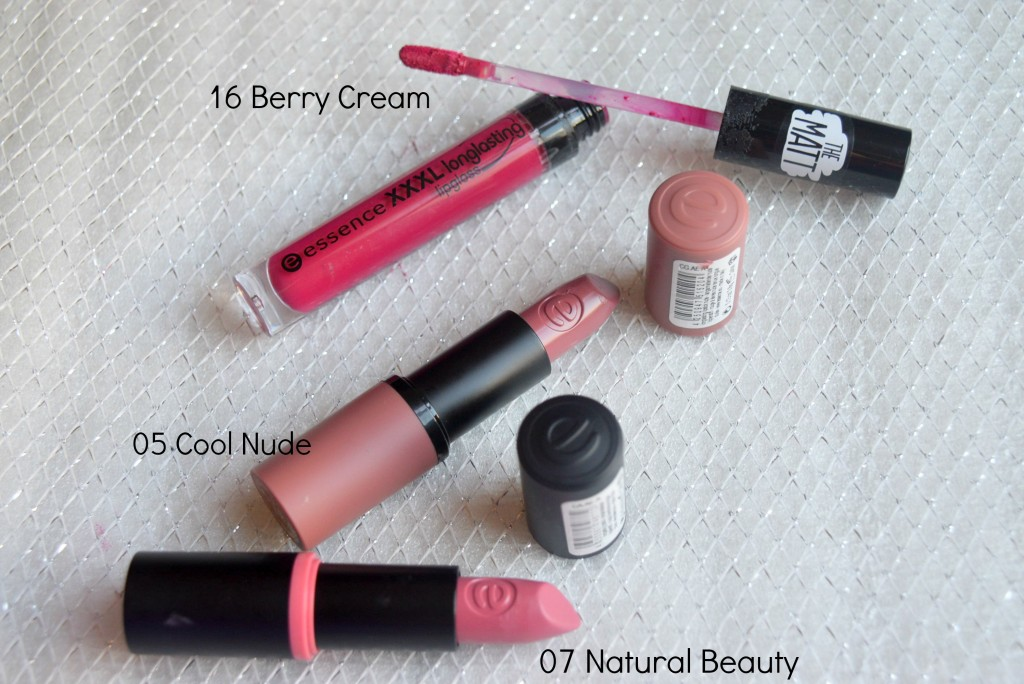 Essence Lipsticks- Essence ip Gloss