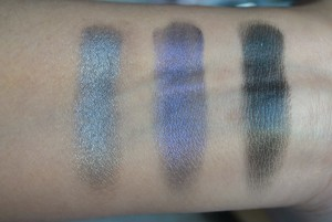 Makeup Revolution I am Sexy Eyeshadow swatches