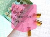 Review- Maxon Hair Rejuven