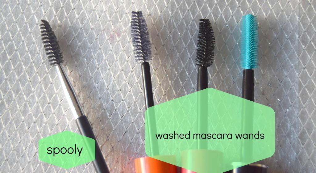 spooly-mascara wand