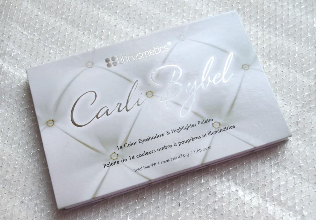 bh cosmetics- carli bybel palette
