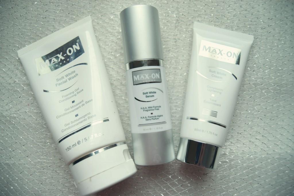 Maxon Soft White skincare