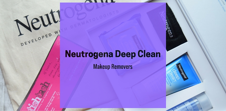 Neutrogena Deep Clean Makeup Removers