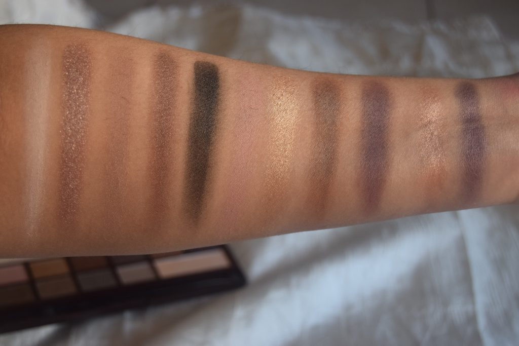 Makeup Revolution Death By Chocolate Swatches