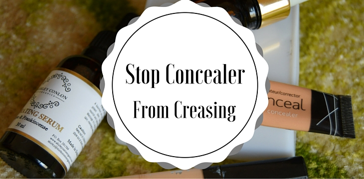 stop concealer from creasing