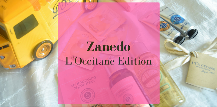 Zanedo- My 2nd Box ( L'Occitane Edition)