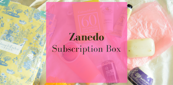 Zanedo- My First Box