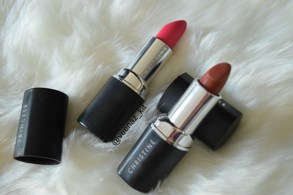 Christine lipsticks