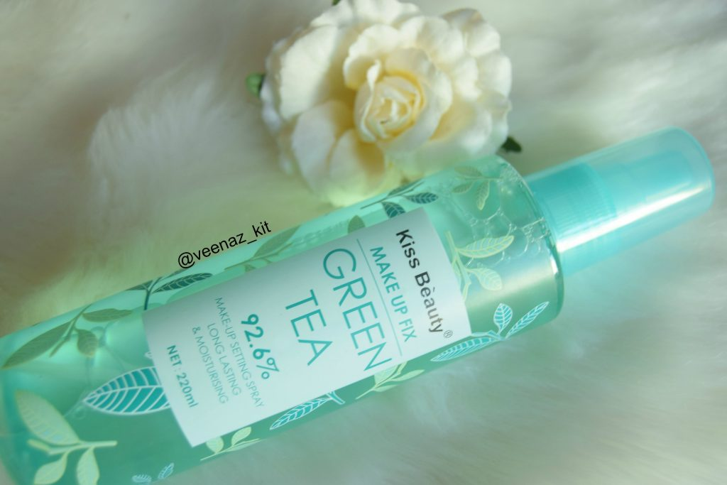 green tea makeup setting spray
