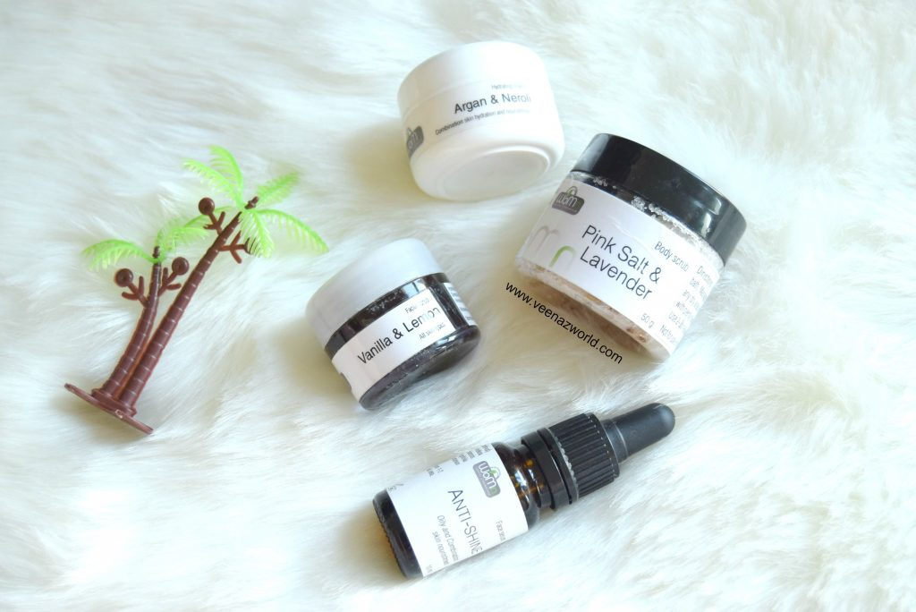 Womn cosmetics, organic skincare