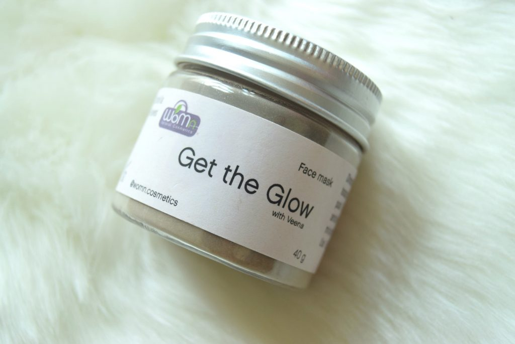 womn get the glow mask with veena,, mask for oily skin ,organic mask