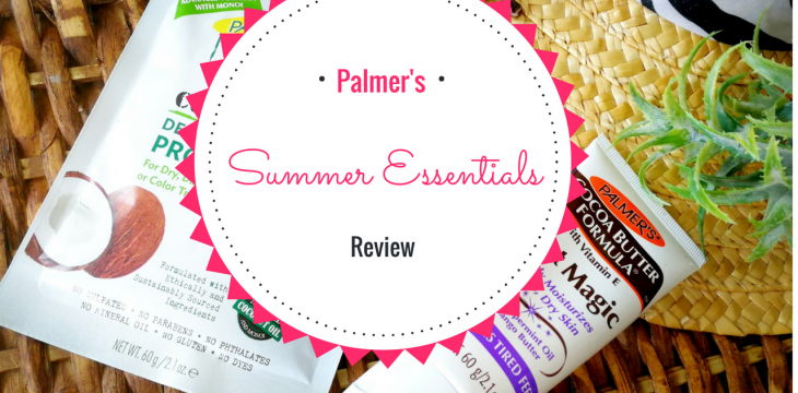 Palmer's Summer Essentials Review