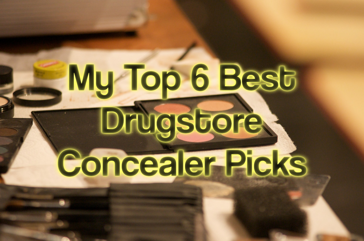 My Top 6 Best Drugstore Concealer Picks