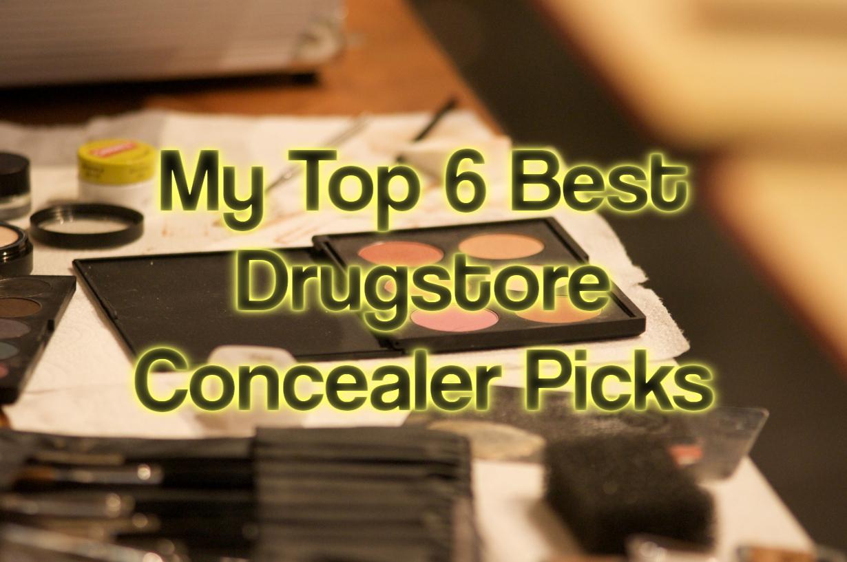 My Top 6 Best Drugstore Concealer Picks