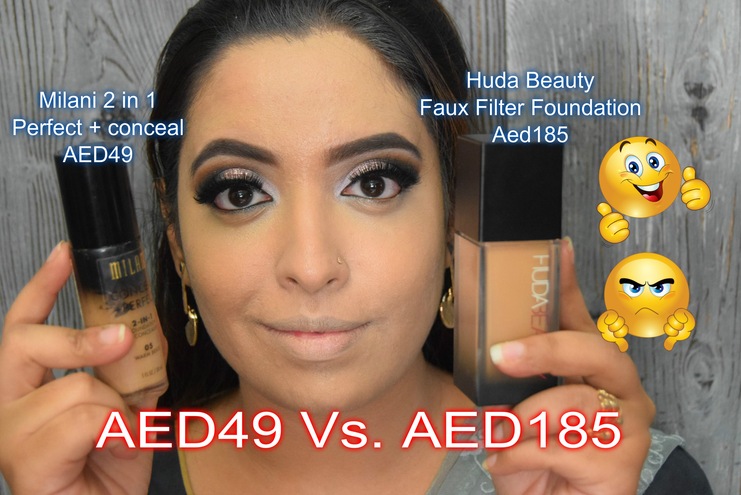 My Favorite Drugstore Foundations Vs. Huda Beauty Faux Filter Foundation