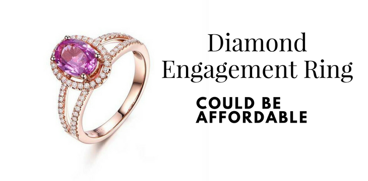 Diamond Engagement Ring Could Be Affordable