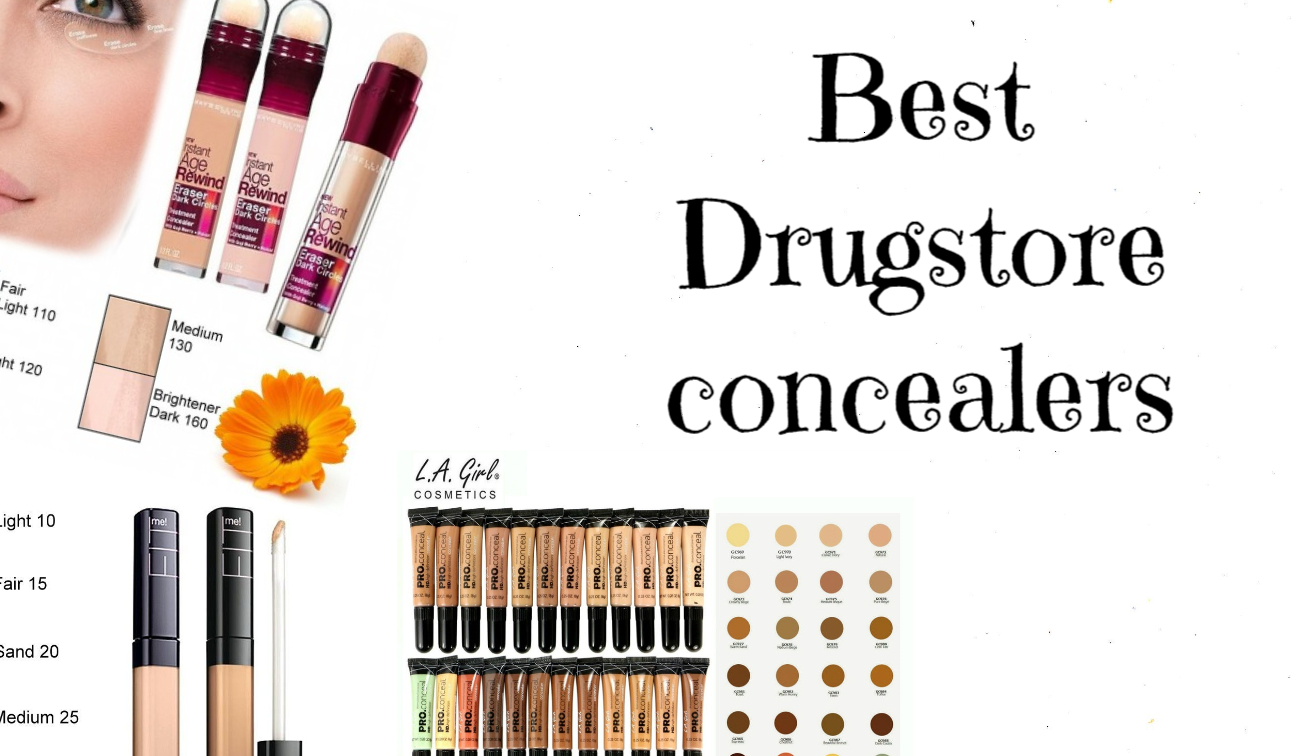 Top 5 Drugstore Concealers