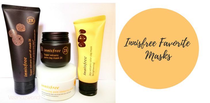 Innisfree Favorite Masks