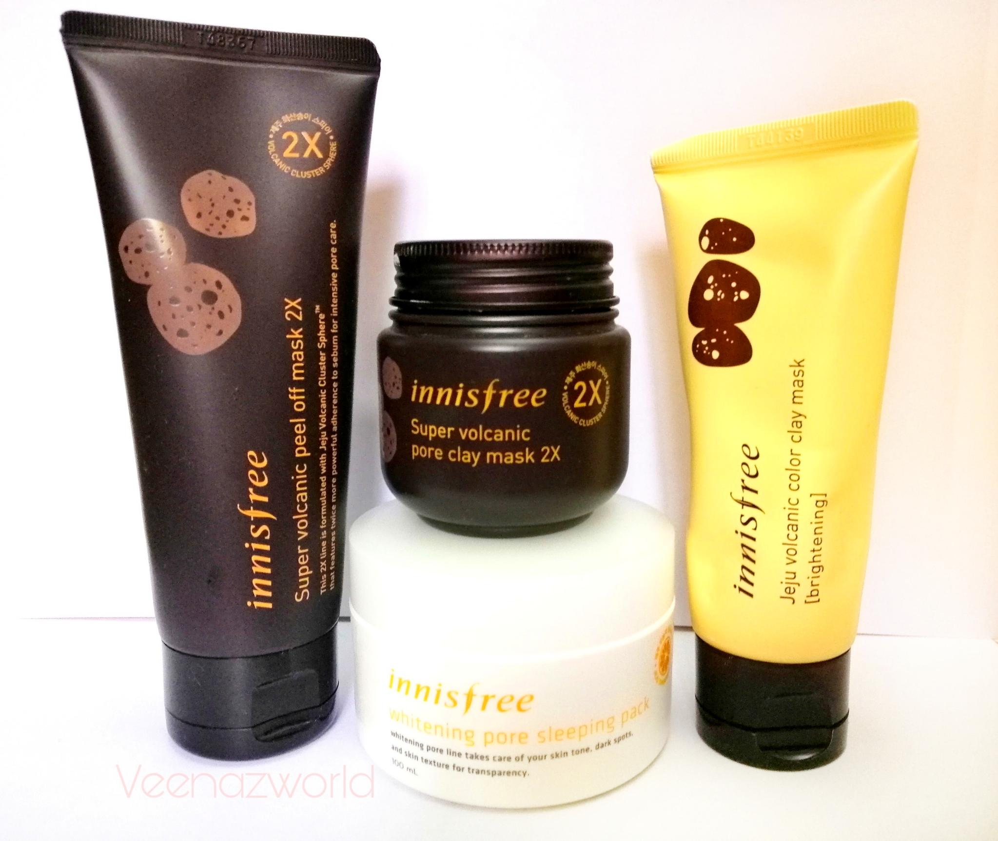 innisfreeworls, innisfree, masks, korean skincare, korean facemask